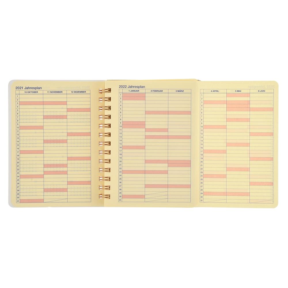 【デルフォニックス】プーさん&ピグレット Rollbahn 手帳・スケジュール帳(M) 2022 CALENDARS & ORGANIZERS