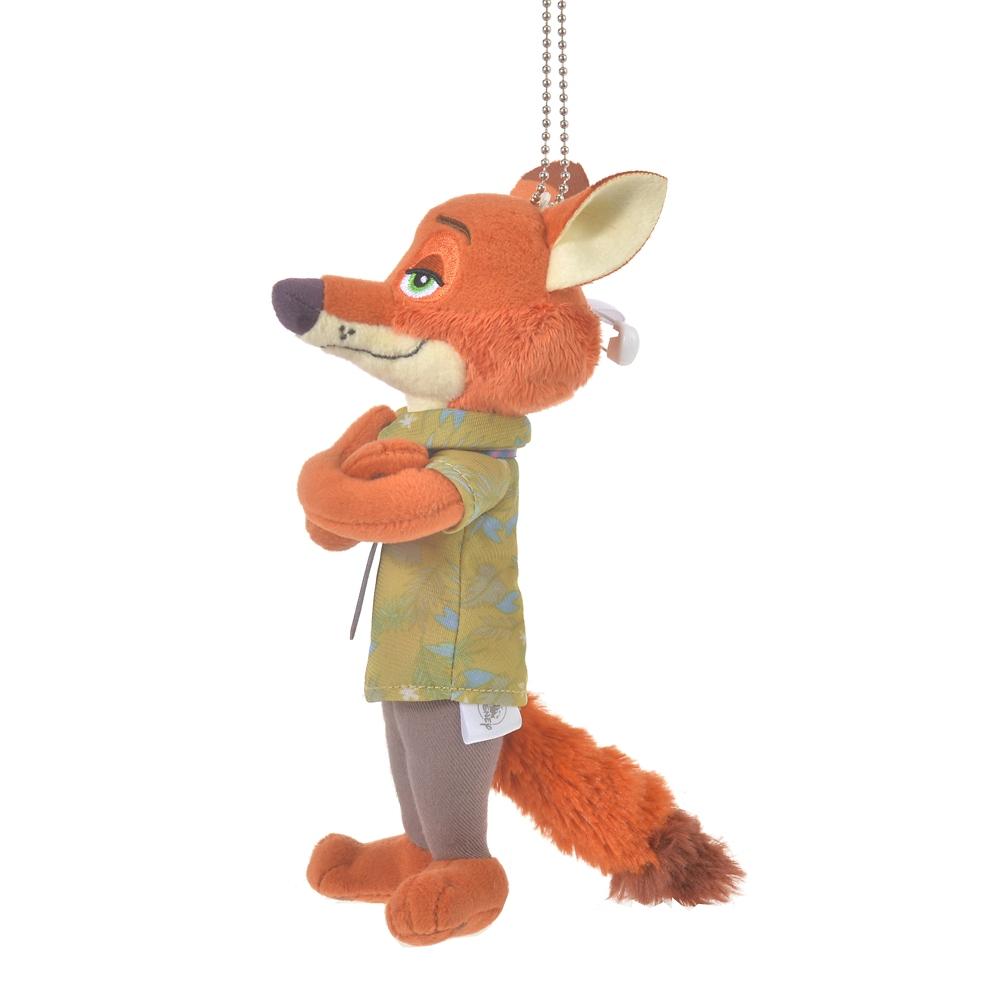 ニック・ワイルド ぬいぐるみキーホルダー・キーチェーン The Fox and the Hound 40th