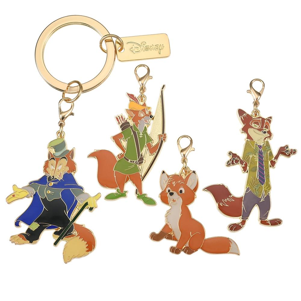 ディズニーキャラクター キーホルダー・キーチェーン セット The Fox and the Hound 40th