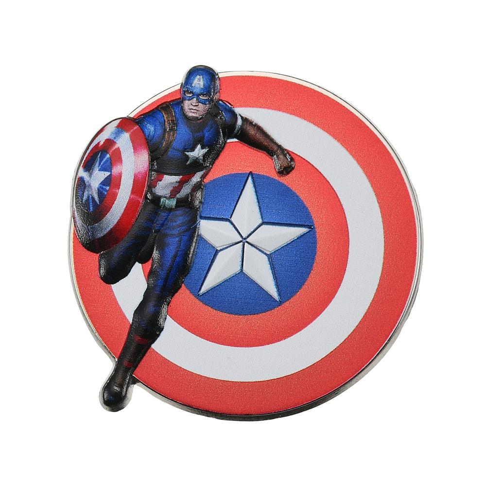 マーベル キャプテン・アメリカ ピンバッジ メタルレリーフ