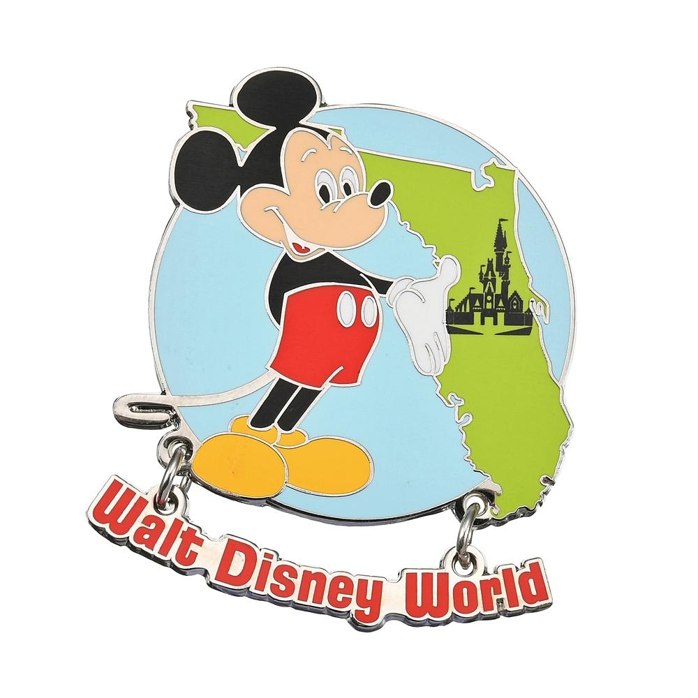 ミッキー ピンバッジ Florida WALT DISNEY World 50TH VAULT