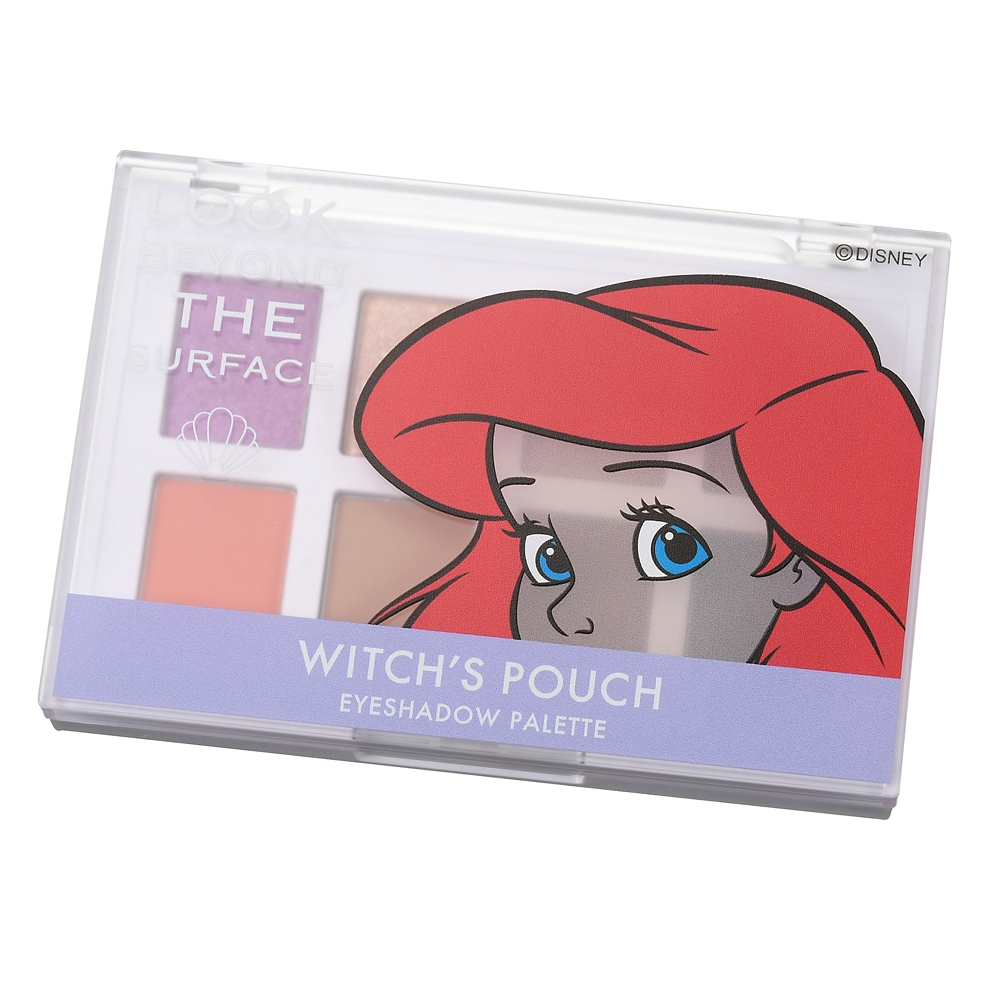 【Witch's Pouch】ディズニーストア限定 アリエル アイシャドウ パレット CORAL FIELD Look at Me
