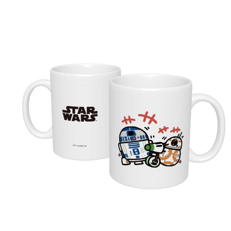 【D-Made】マグカップ  カナヘイ画♪スター・ウォーズ R2-D2&BB-8