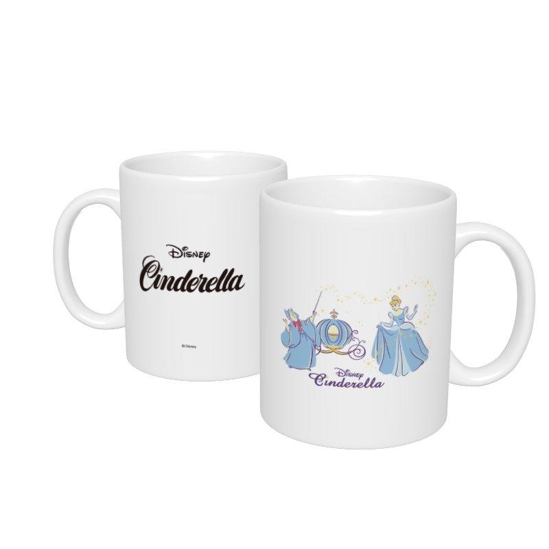 【D-Made】マグカップ  シンデレラ シンデレラ&妖精 ビビディ・バビディ・ブー