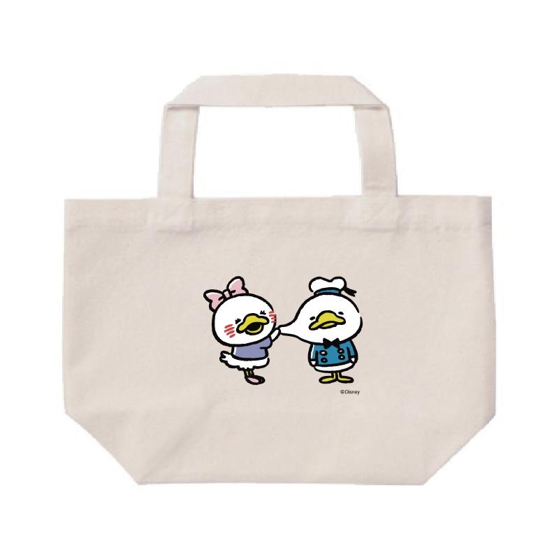 【D-Made】ミニトートバッグ  うごく!カナヘイ画♪ミッキー&フレンズ ドナルド&デイジー