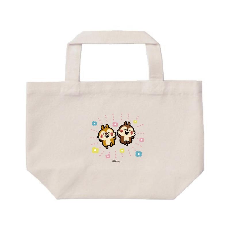 【D-Made】ミニトートバッグ  うごく!カナヘイ画♪ミッキー&フレンズ チップ&デール