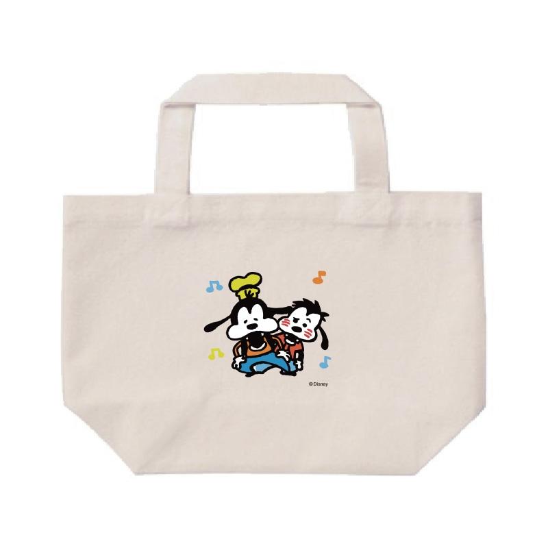 【D-Made】ミニトートバッグ  うごく!カナヘイ画♪ミッキー&フレンズ グーフィー&マックス