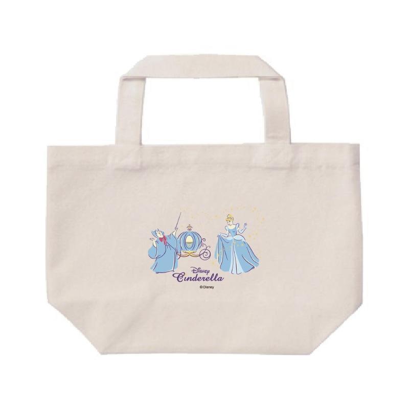 【D-Made】ミニトートバッグ  シンデレラ シンデレラ&妖精 ビビディ・バビディ・ブー