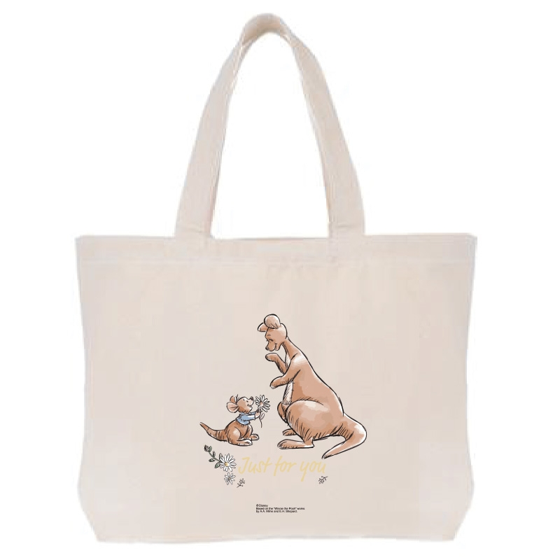 【D-Made】トートバッグ  くまのプーさん カンガ&ルー ギフト