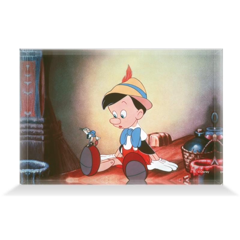 【D-Made】アクリルブロック 映画『ピノキオ』 ピノキオ&ジミニー・クリケット