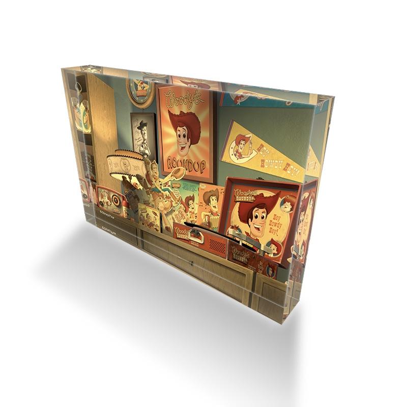 【D-Made】アクリルブロック 映画『トイ・ストーリー2』 アル コレクション