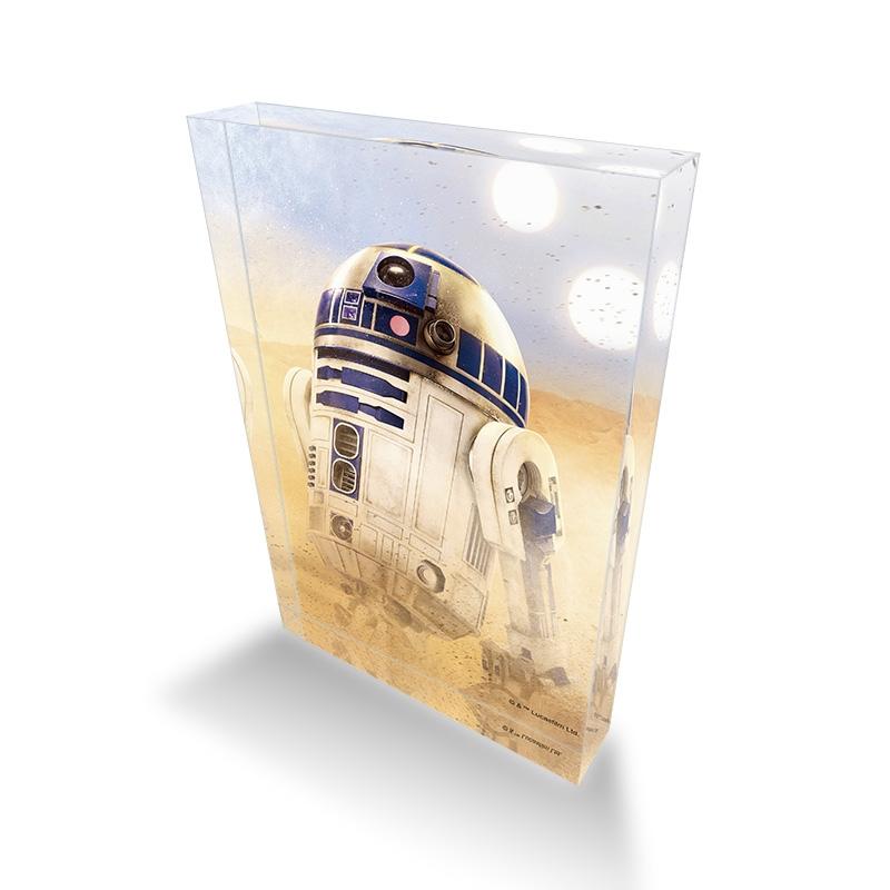 【D-Made】アクリルブロック スター・ウォーズ R2-D2