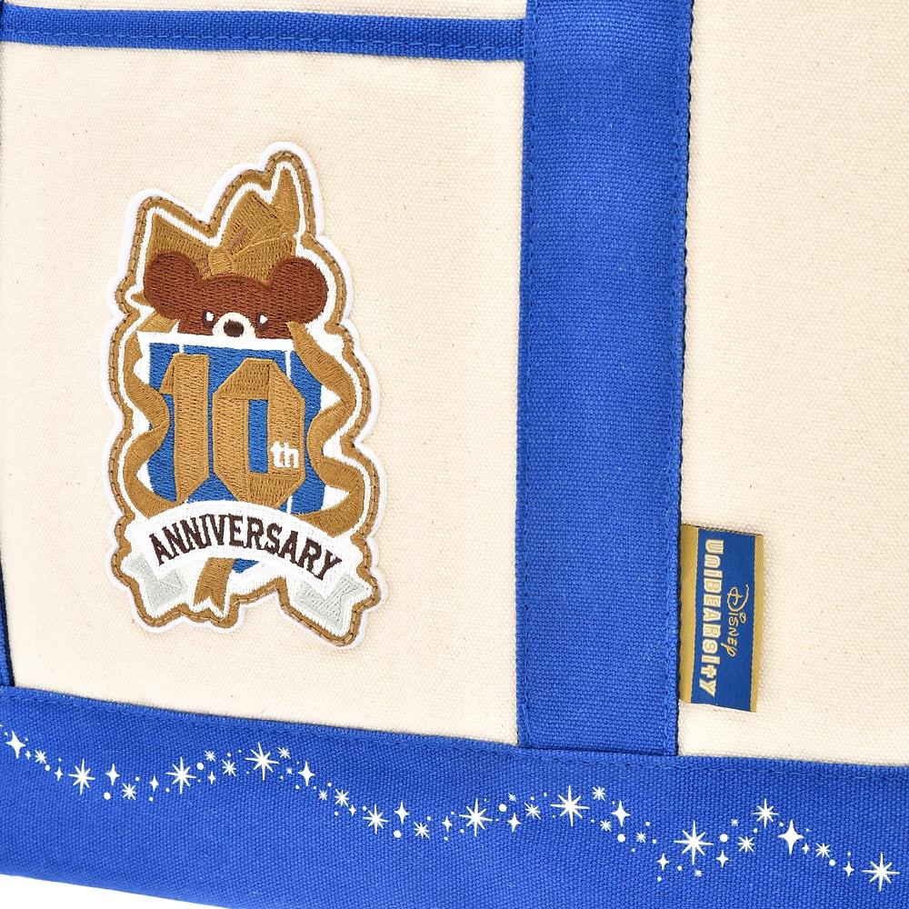 ユニベアシティ トートバッグ キャンバス クリスタルアート UniBEARsity 10th ANNIVERSARY
