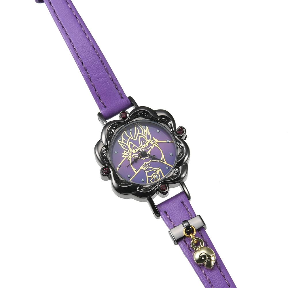 アースラ 腕時計・ウォッチ Disney Villains 2021
