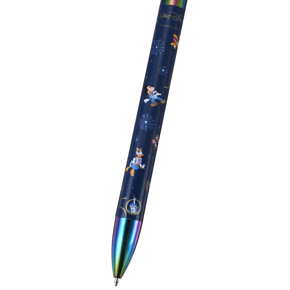 ミッキー&フレンズ ボールペン WALT DISNEY World 50TH CELEBRATION