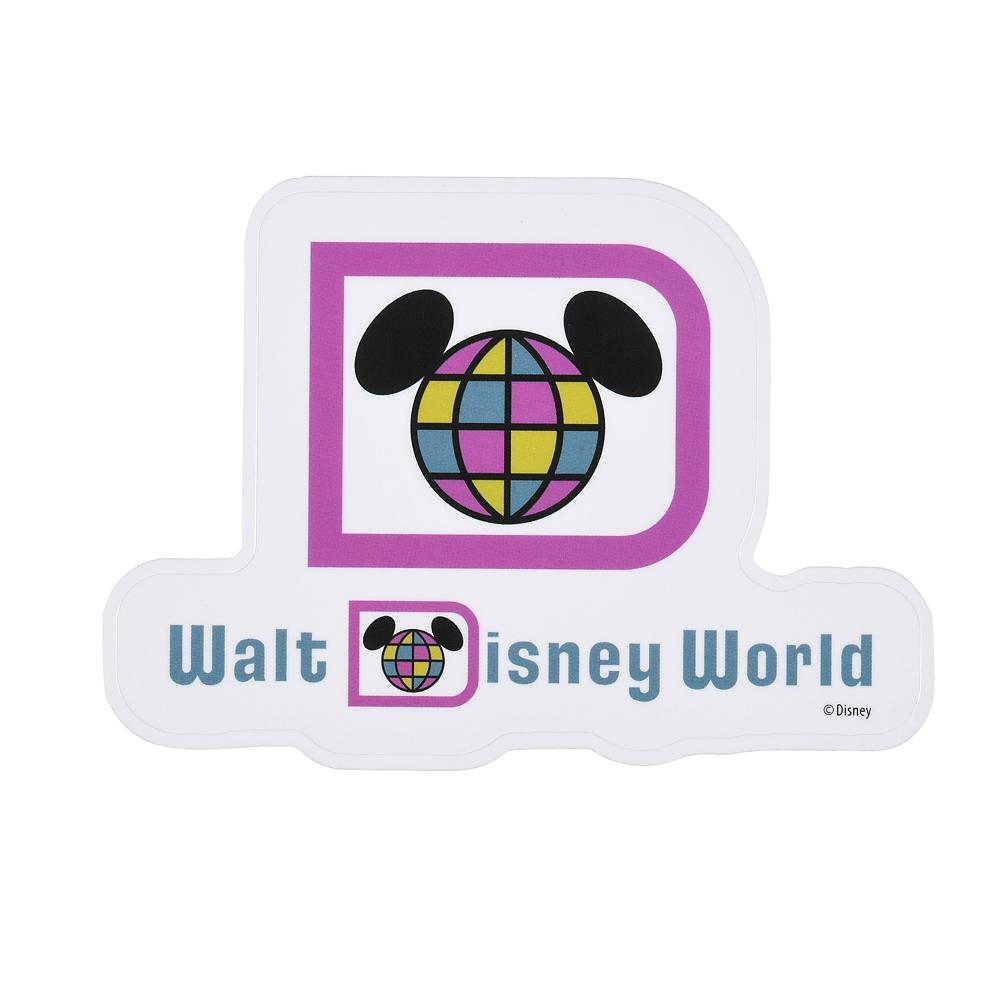 ミッキー シール・ステッカー ロゴ WALT DISNEY World 50TH VAULT