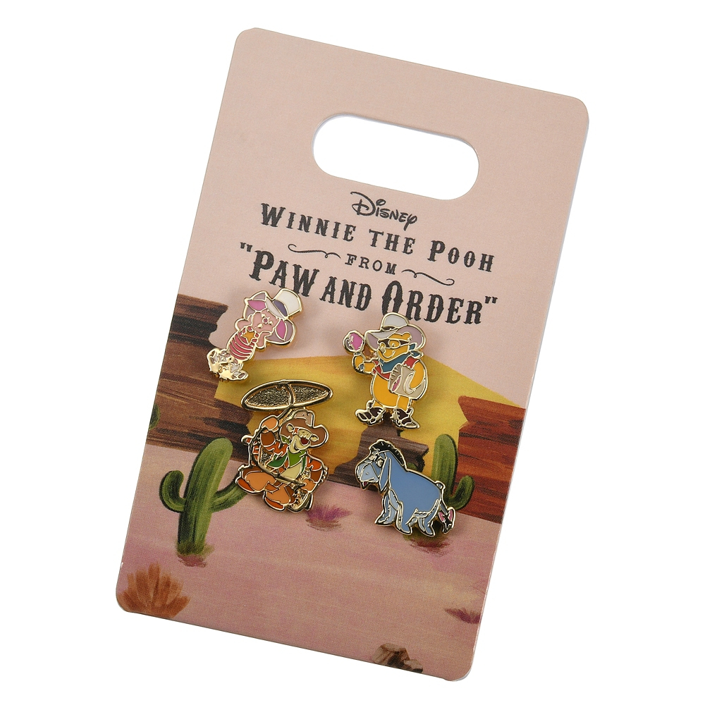 プー&フレンズ ピアス セット Western Pooh