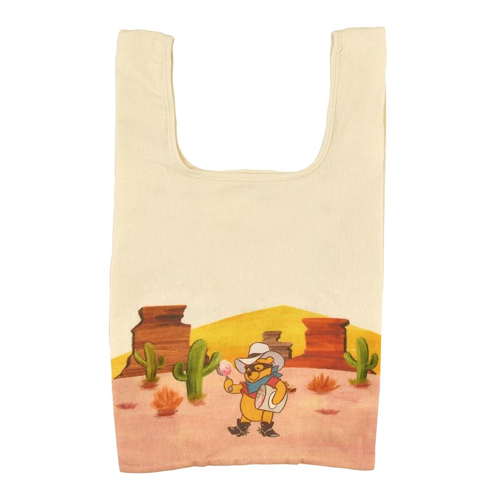 プーさん&ピグレット ショッピングバッグ・エコバッグ ポーチ入り Western Pooh