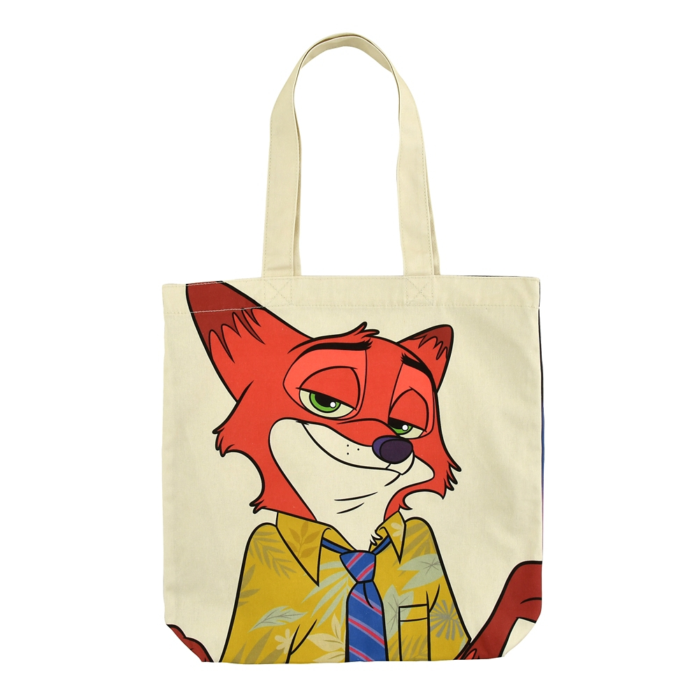 ニック・ワイルド トートバッグ The Fox and the Hound 40th