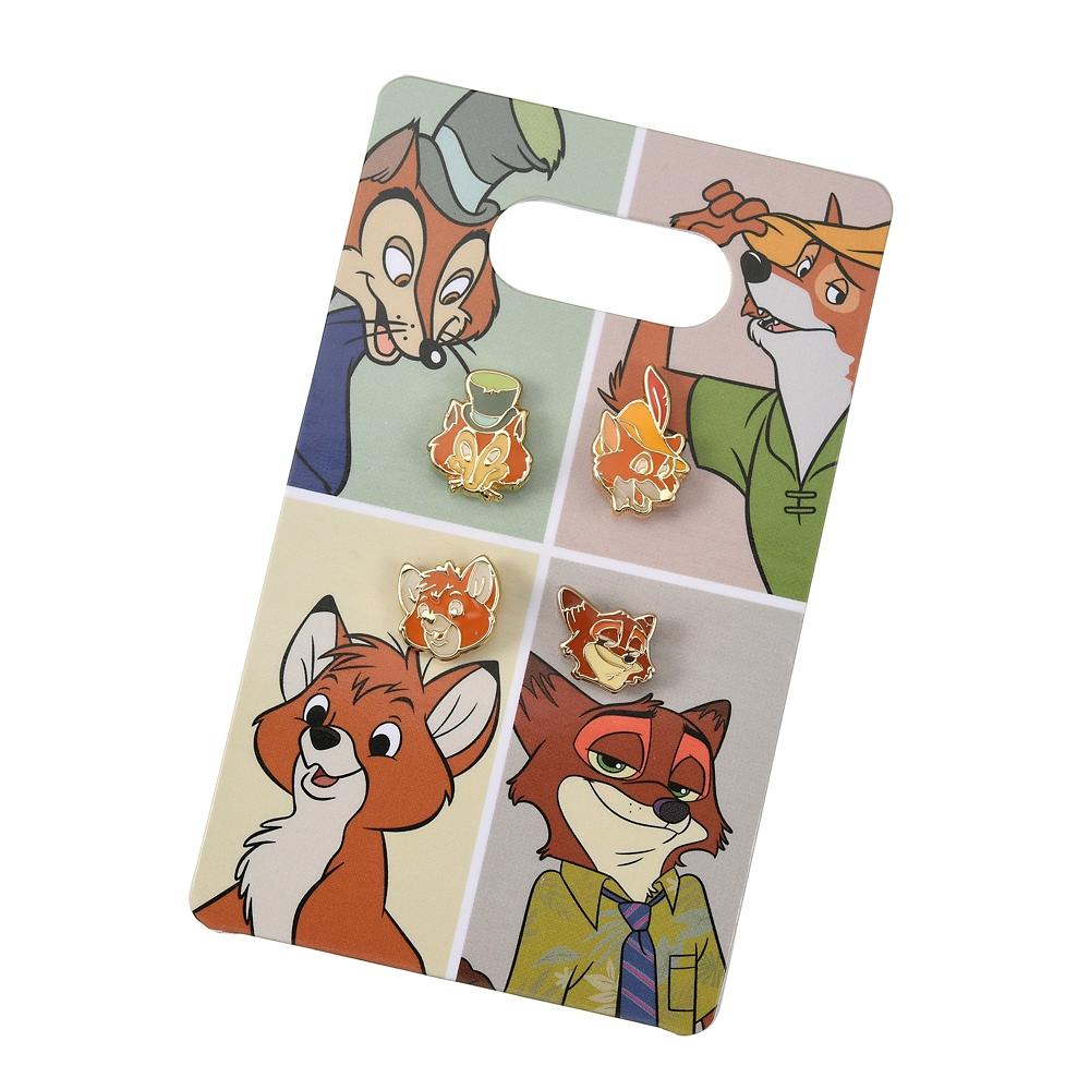 ディズニーキャラクター ピアス セット The Fox and the Hound 40th