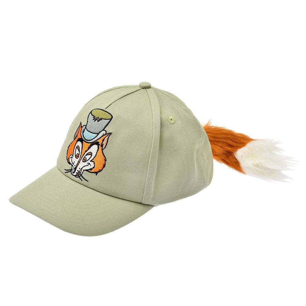 正直ジョン 帽子・キャップ しっぽ付き The Fox and the Hound 40th