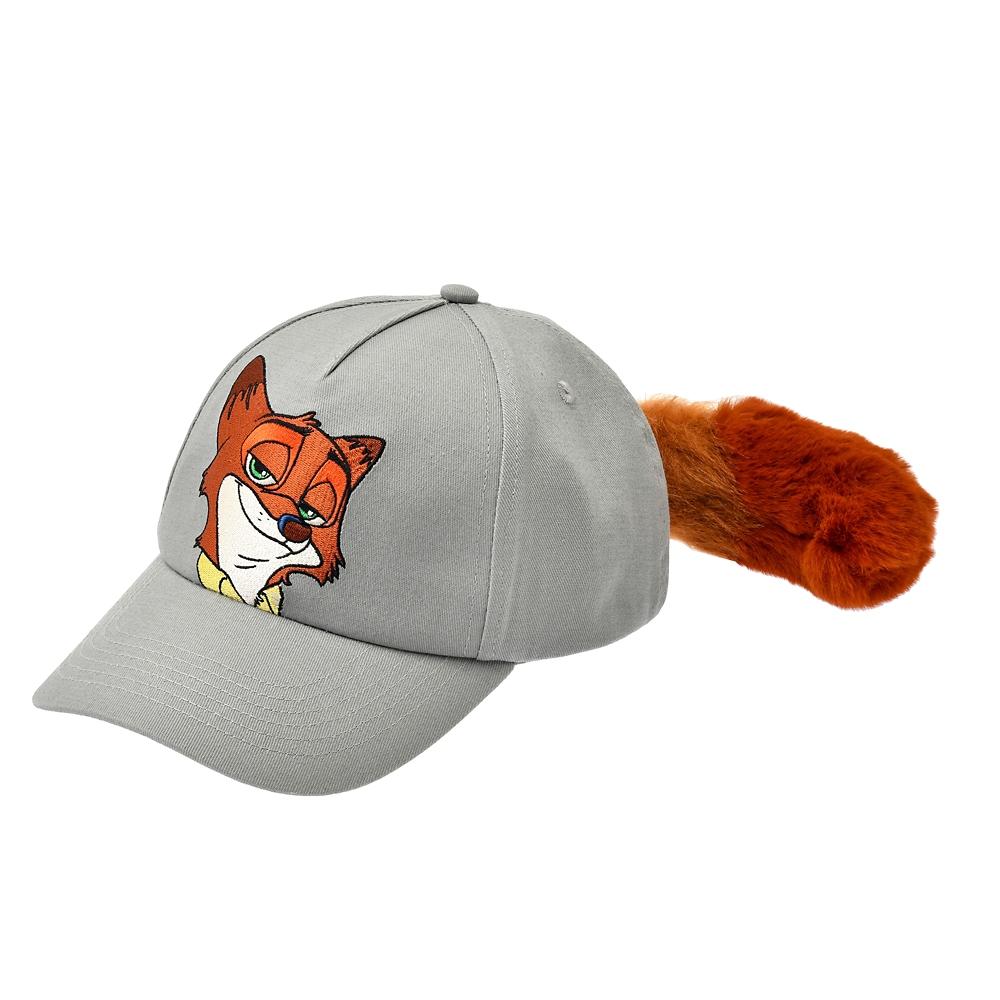 ニック・ワイルド 帽子・キャップ しっぽ付き The Fox and the Hound 40th