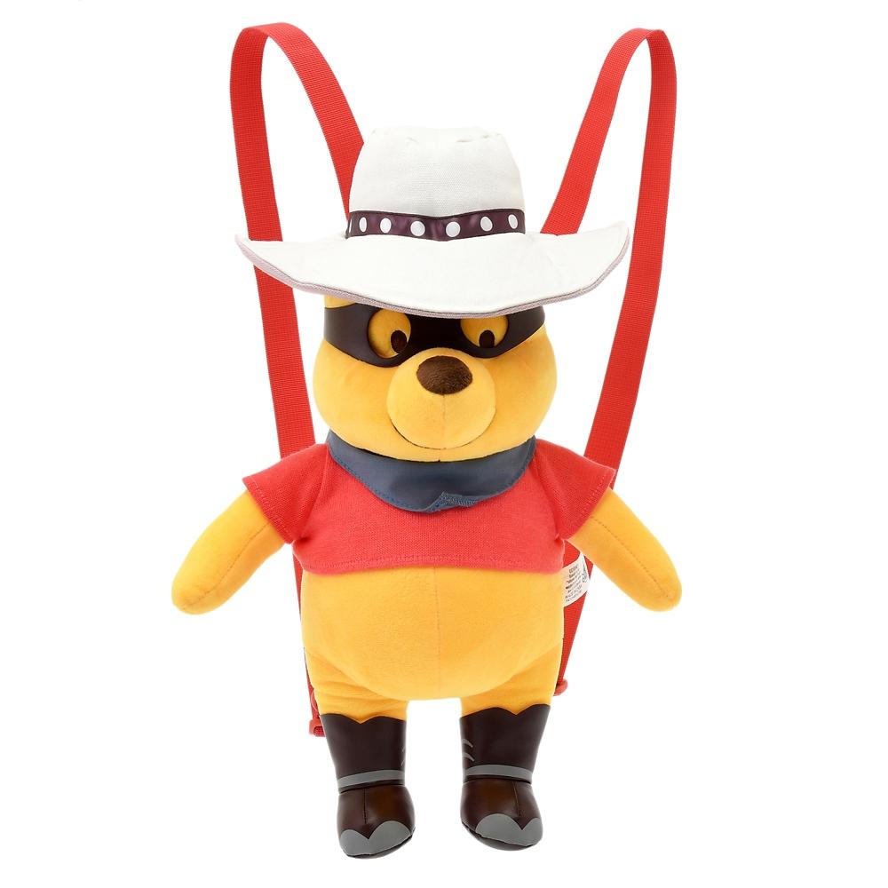 プーさん リュックサック・バックパック ぬいぐるみ風 Western Pooh