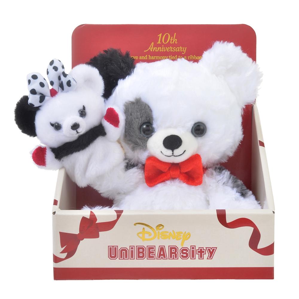 ユニベアシティ クッキークリーム(SS) ぬいぐるみ ぬいぐるみ専用パペット付き UniBEARsity 10th ANNIVERSARY