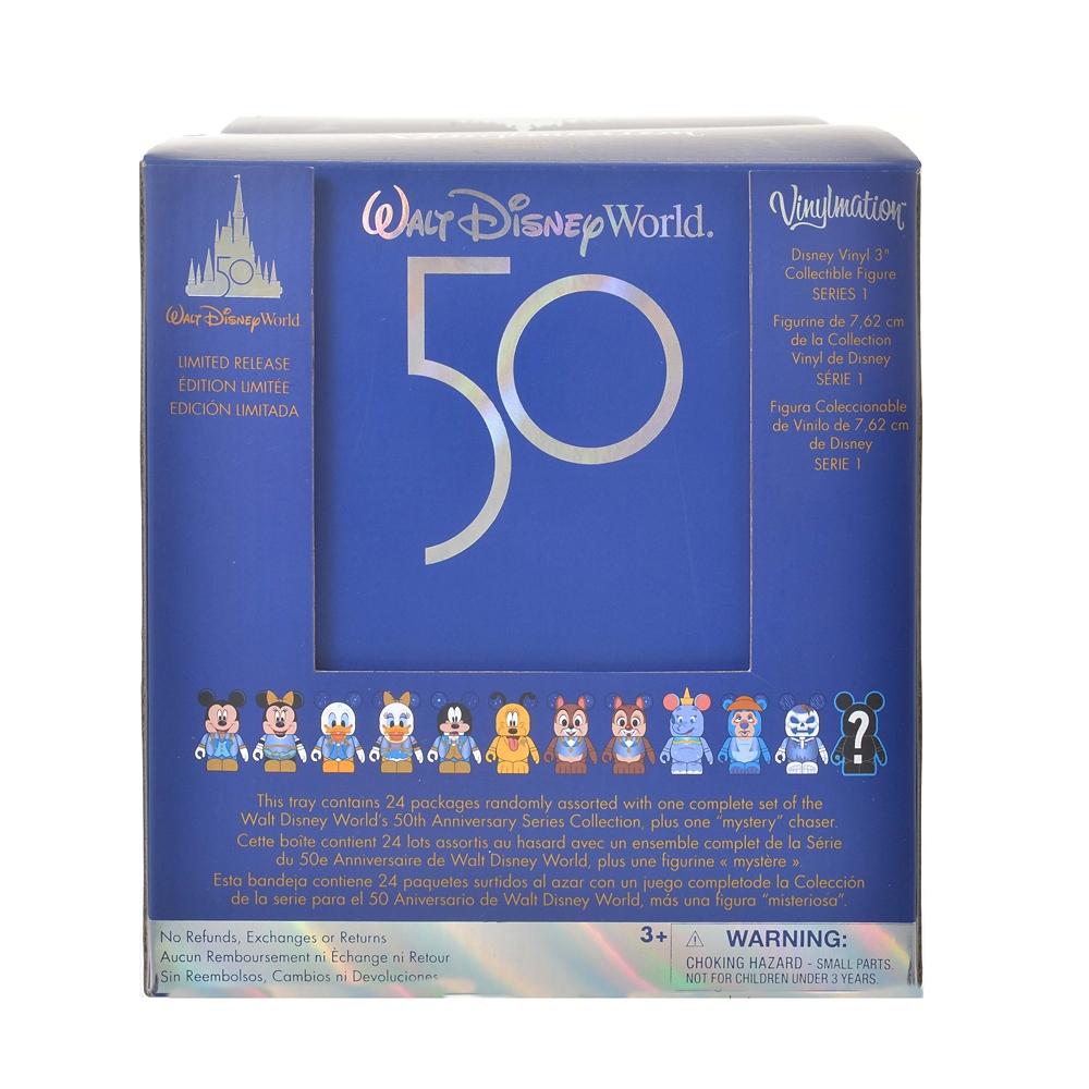 ディズニーキャラクター シークレットフィギュア バイナルメーション 24個入り WALT DISNEY World 50TH CELEBRATION