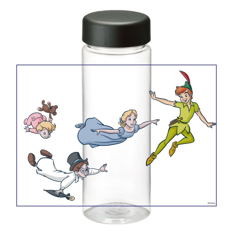 【D-Made】クリアボトル ピーター・パン ピーター&ウェンディ&ジョン&マイケル&マイケルのテディベア Fly