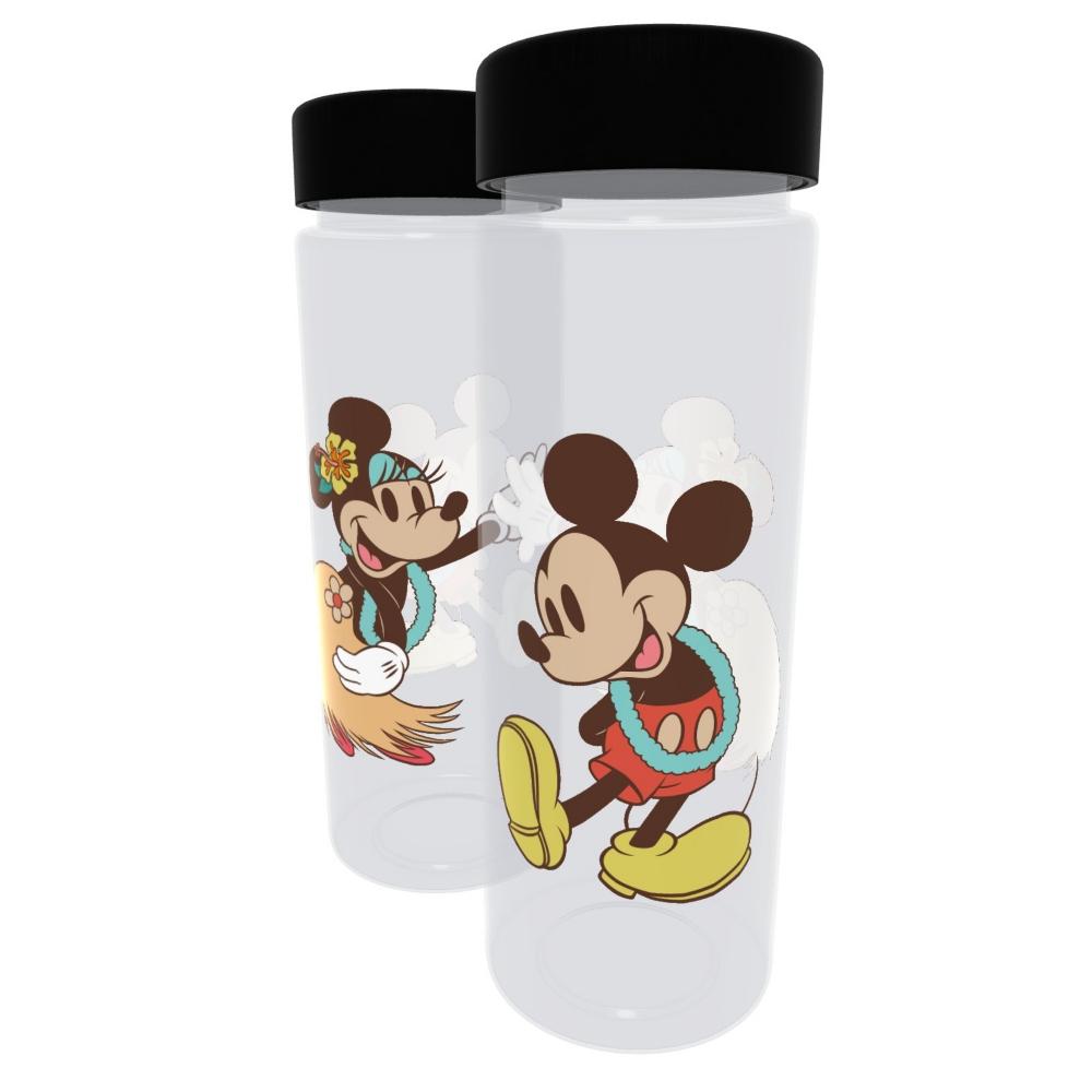 【D-Made】クリアボトル ミッキー&ミニー Aloha