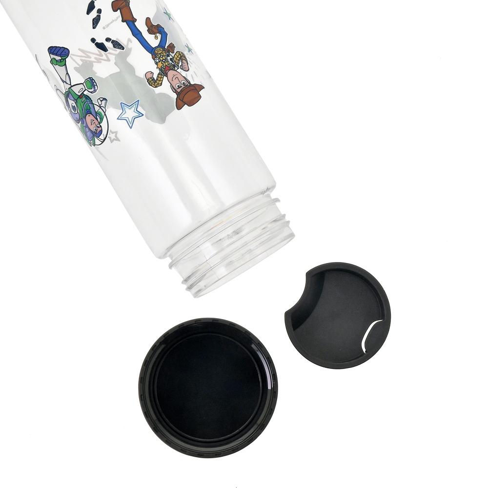【D-Made】クリアボトル ふしぎの国のアリス アリス&ハートの女王 シルエットアート