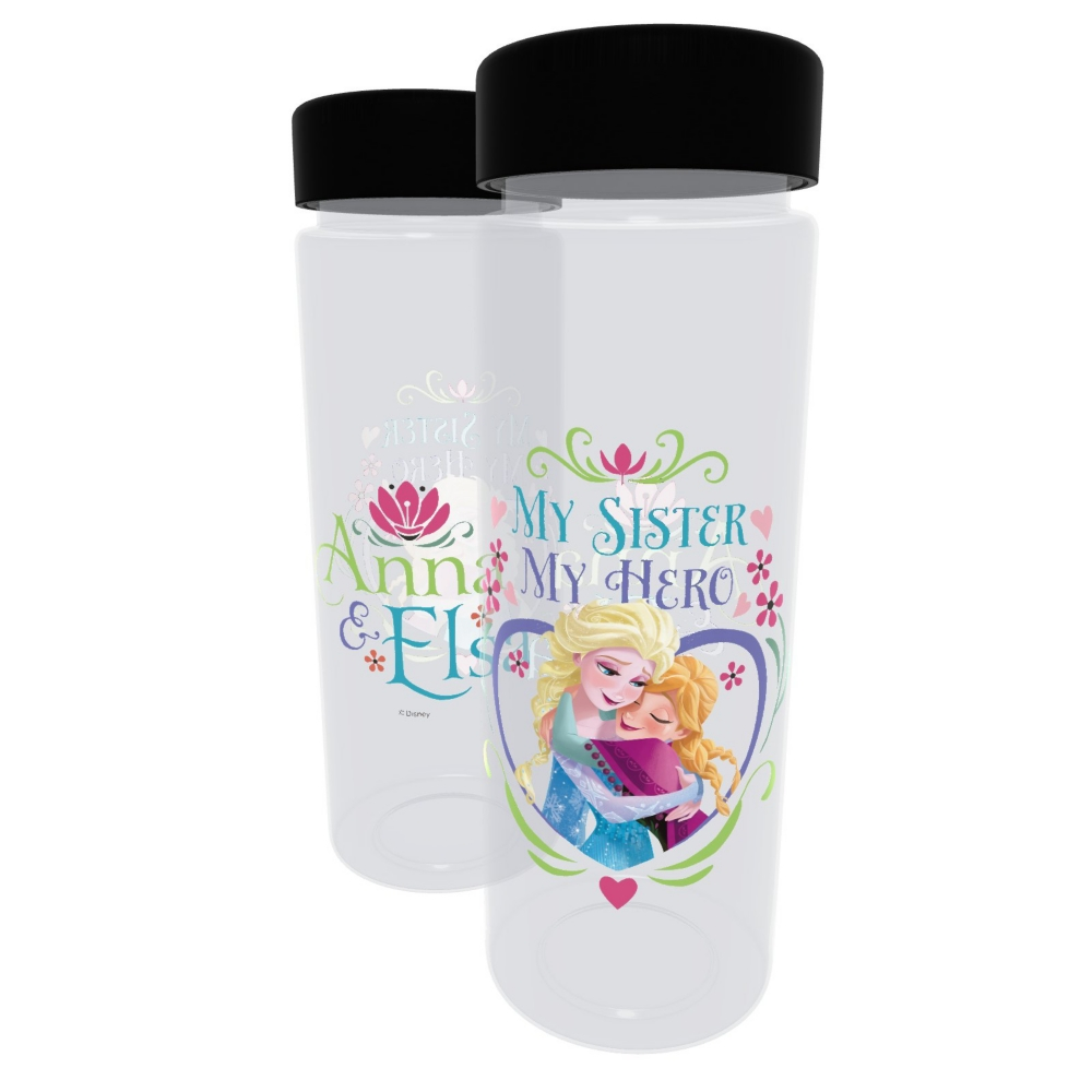 【D-Made】クリアボトル アナと雪の女王 アナ&エルサ My sister My Hero
