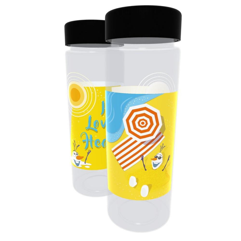 【D-Made】クリアボトル アナと雪の女王 オラフ I Love Heat