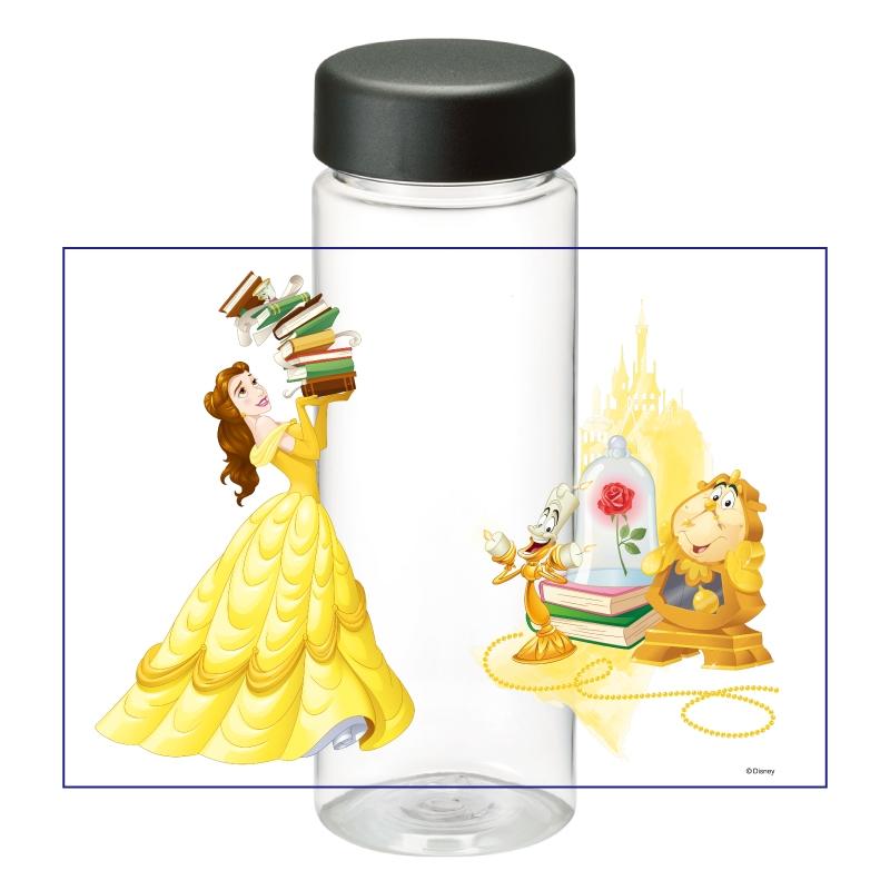 【D-Made】クリアボトル 美女と野獣 ベル&ルミエール&コグスワース 本