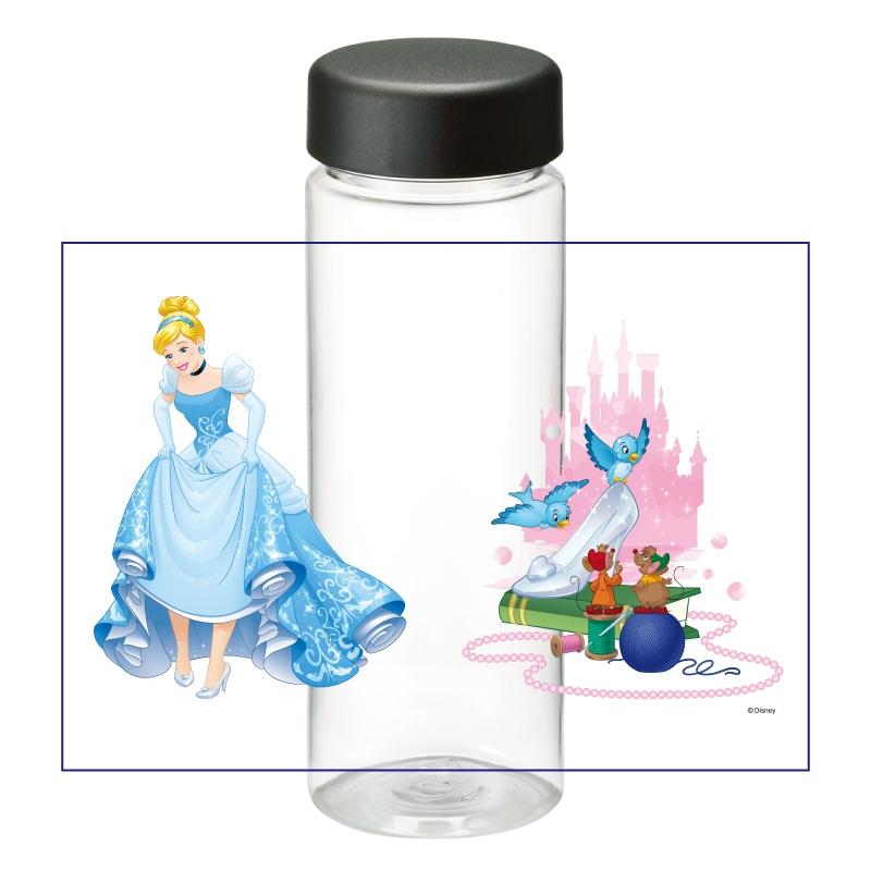 【D-Made】クリアボトル シンデレラ  シンデレラ&ガス&ジャック&青い鳥