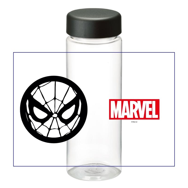 【D-Made】クリアボトル MARVEL アイコン スパイダーマン