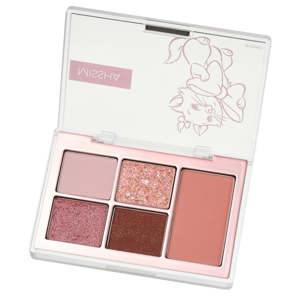 【MISSHA】マリー おしゃれキャット アイシャドウ・チーク イージーフィルターシャドウパレット ピンク Chocolate cosme