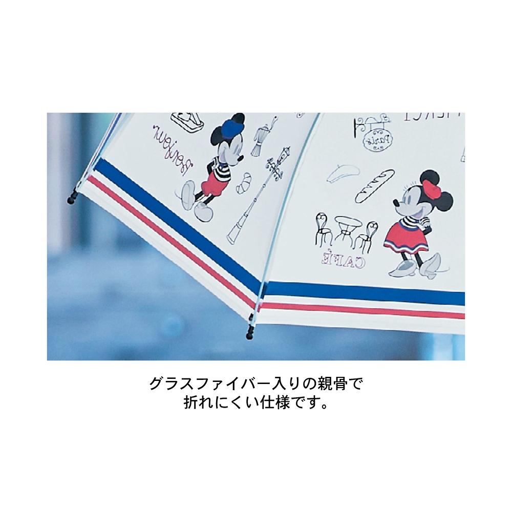 ミッキー&ミニー ビニール傘 パリ