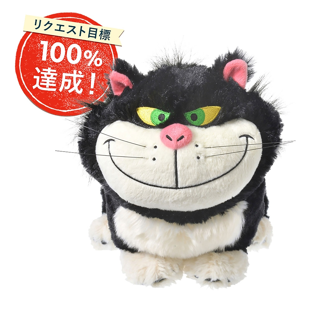 【ゲストリクエスト受注】ルシファー ぬいぐるみ I Love MY Disney CAT