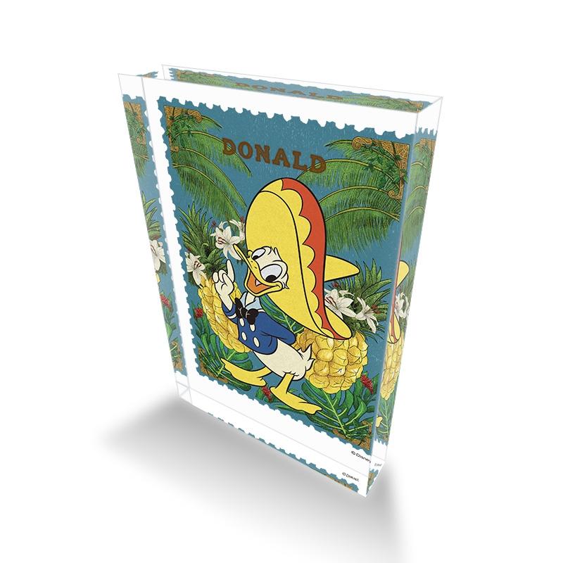 【D-Made】アクリルブロック 三人の騎士 ドナルド Donald Duck Birthday