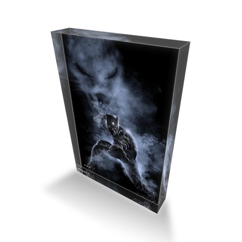 【D-Made】アクリルブロック MARVEL 『シビル・ウォー/キャプテン・アメリカ』 ブラックパンサー