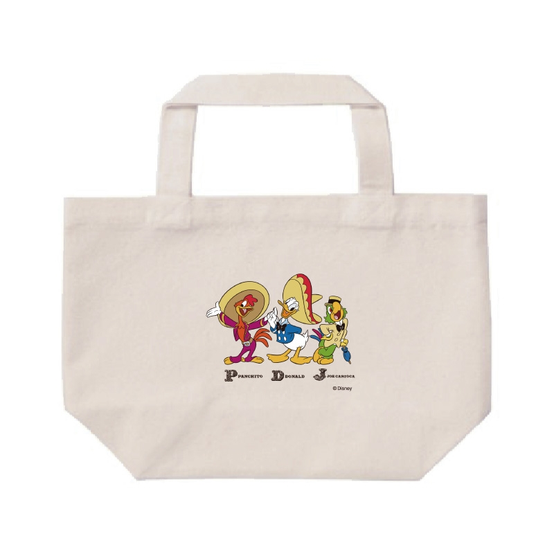 【D-Made】ミニトートバッグ  三人の騎士 集合 Donald Duck Birthday