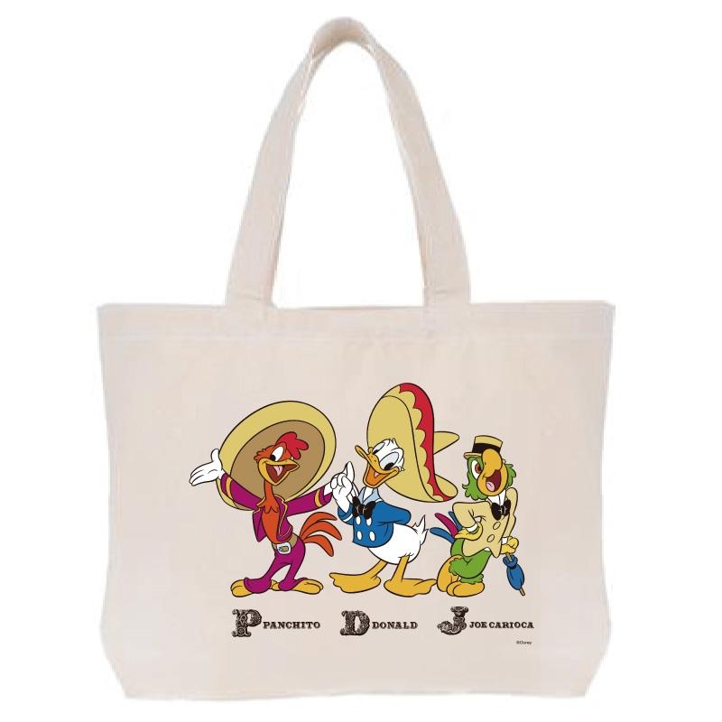 【D-Made】トートバッグ  三人の騎士 集合 Donald Duck Birthday