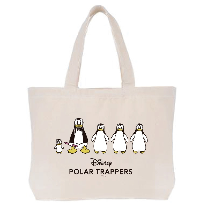 【D-Made】トートバッグ  ドナルドの南極探検 Polar Trappers