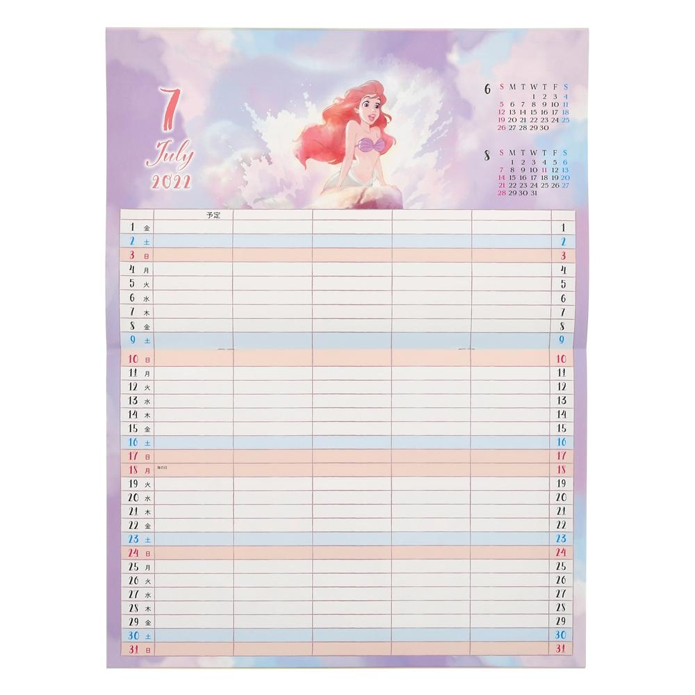 ディズニーキャラクター 壁掛けカレンダー 2022 スケジュールカレンダー CALENDARS & ORGANIZERS