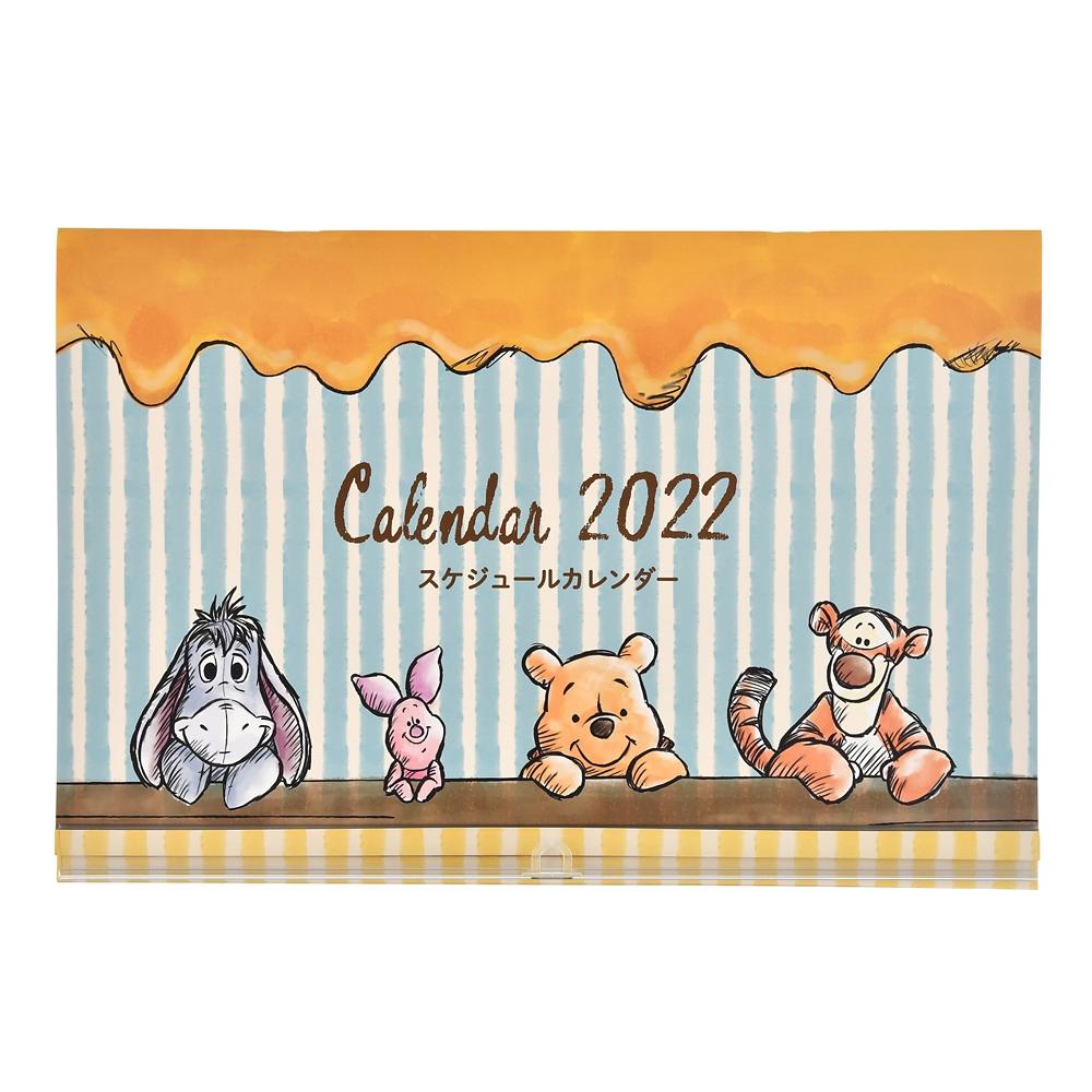 プー&フレンズ 壁掛けカレンダー 2022 スケジュールカレンダー CALENDARS & ORGANIZERS