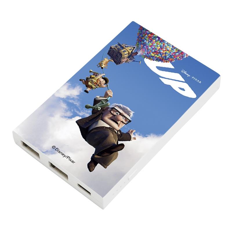 【D-Made】モバイルバッテリーチャージャー カールじいさんの空飛ぶ家 集合 ポスター
