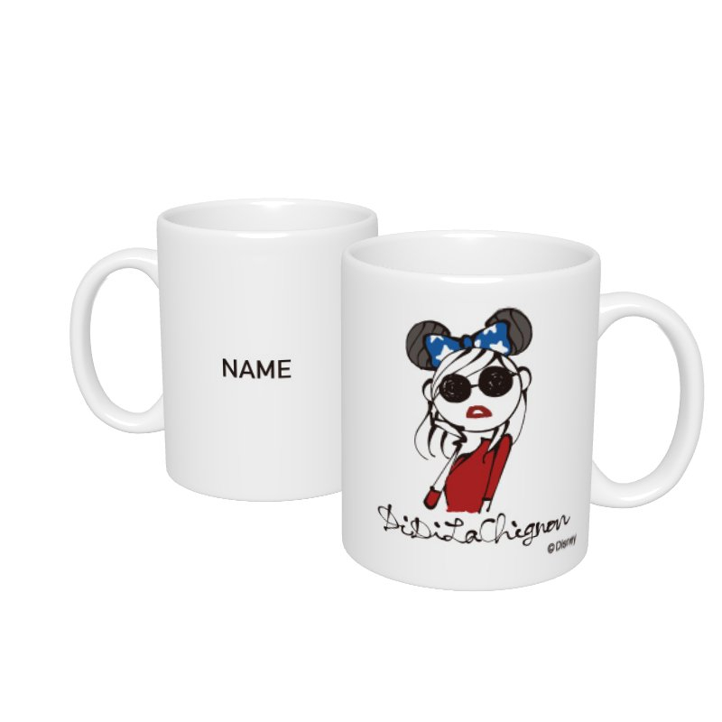 【D-Made】名入れマグカップ  DiDiLaChignon Disney Artist Collection by Daichi Miura Fantasia