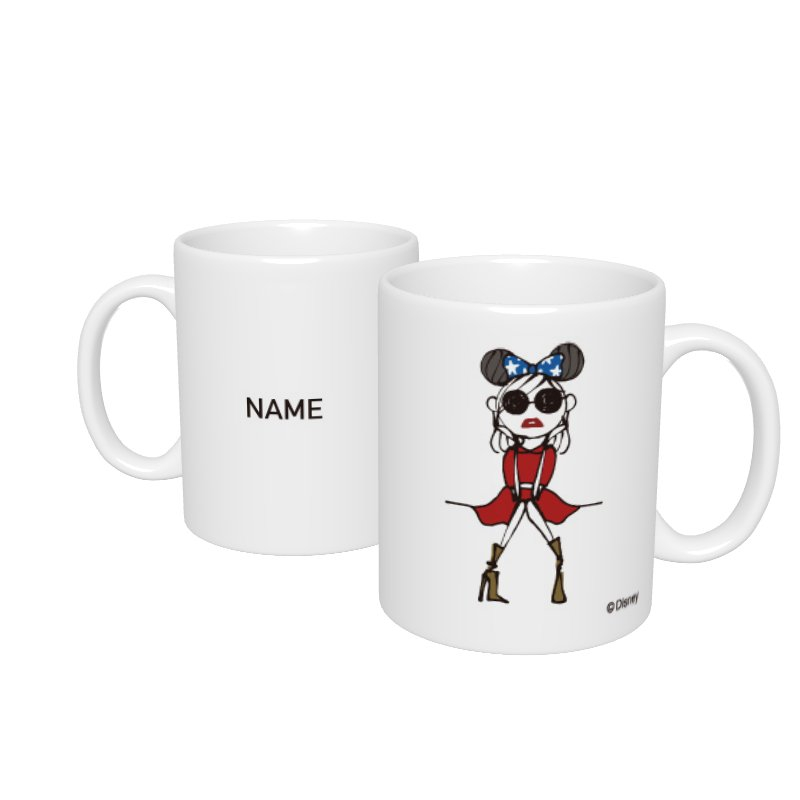 【D-Made】名入れマグカップ  Disney Artist Collection by Daichi Miura Fantasia